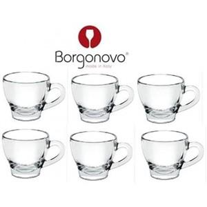BORGONOVO Set 6 Tazze Caffe...