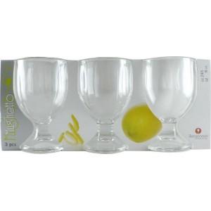 BORGONOVO Set 3 Bicchieri...